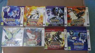 Coleccion limitada pokemon 6a y 7a generacion 3DS