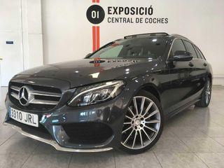 Mercedes Clase C Estate 220d 7G Plus Amg Line / Techo / Led / Cuero / Navi -- NACIONAL --