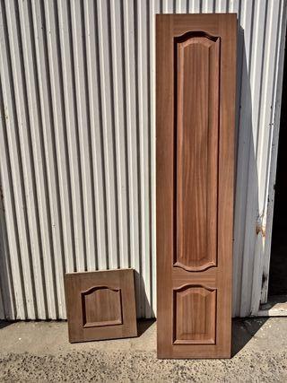 Puertas cocina madera maciza nuevas