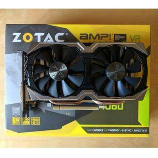 Tarjeta Gráfica ZOTAC GTX 1060 6GB AMP Edition