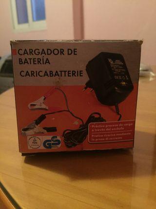 Cargador batería moto