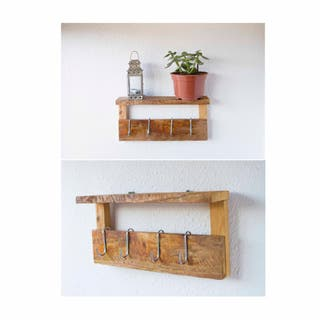 Estante/madera/multiuso/rustico/hogar/jardin