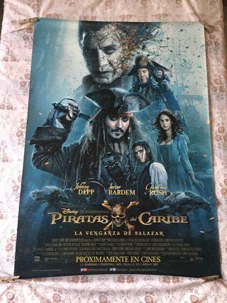 Cartel de cine/piratas del caribe/poster