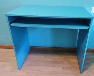 Escritorio/mesa ordenador color turquesa