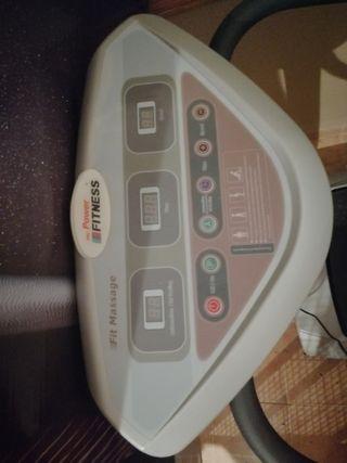 máquina vibratoria y cinta de correr