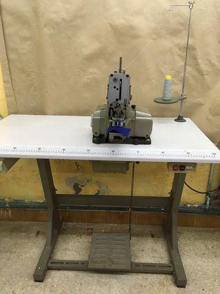 Máquina industrial de coser botone