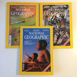 National Geographic - Revista - Pack año 1997