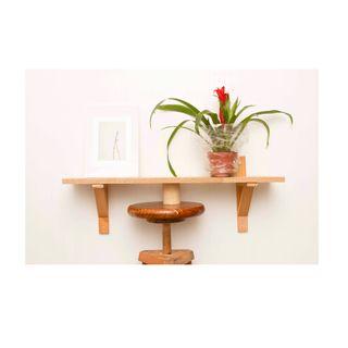 Estante/madera/pared/hogar/jardin