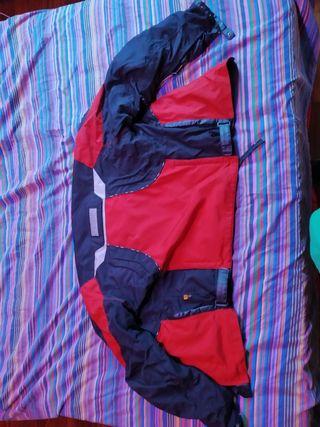 chaqueta moto roja L Xl