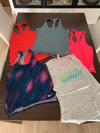 Camisetas tirantes Nike