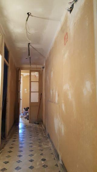Pintor/arreglo paredes en mal estado