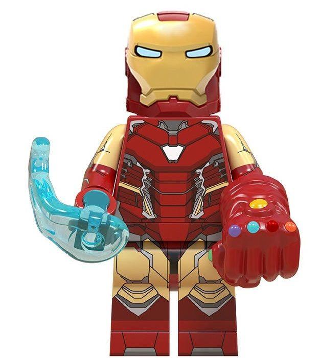 Iron Man Gauntlet Endgame Minifigures Lego Comp