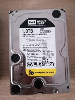 "Disco Duro Western Digital 3.5"" 1.0Tb"
