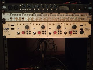 TL Audio Ivory 5001 Quad valve preamp