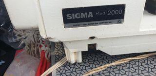máquina de coser sigma 2000,funcionando
