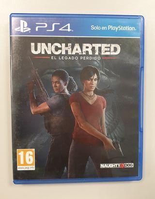 Videojuego Uncharted + ¡Has sido tú!