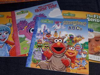 """libros en inglés de la colección """" Sesame street"""""""