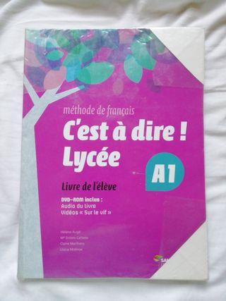 libro de francés c'est a diré! Lycée A1.