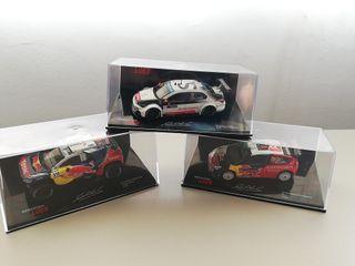 Coches de Rally escala 1/43. Colección S. Loeb