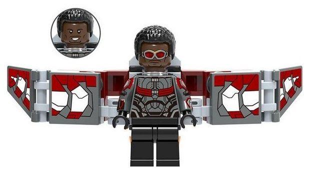 Falcon Vengadores Marvel Minifigures Lego Comp