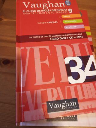 Vaughan curso completo inglés 3 niveles.