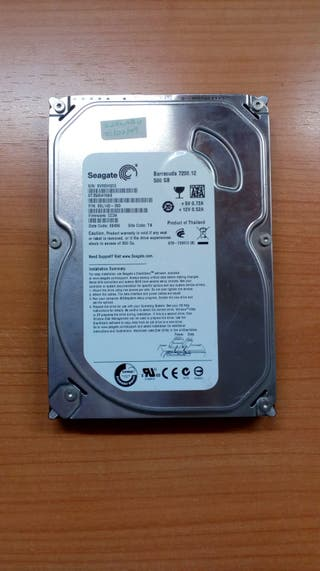 Disco duro interno PC 500GB