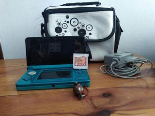 Nintendo 3DS+Pokemon Sol+Maletin de viaje