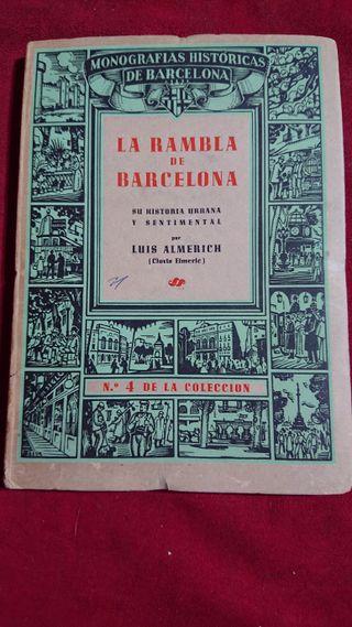LIBRO HISTORIA RAMBLA BARCELONA