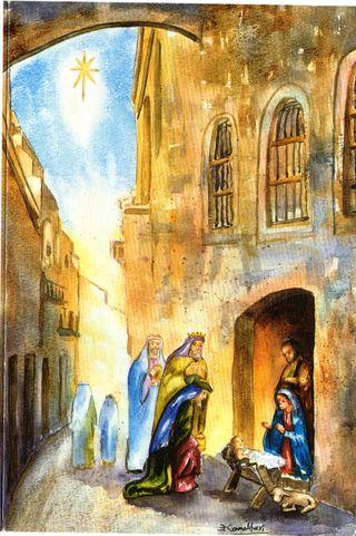 POSTAL NAVIDEÑA DE COLECCION Nº E009