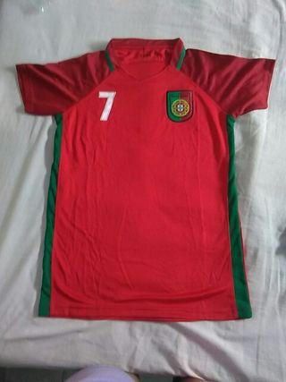 camiseta Ronaldo, selección Portugal