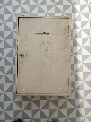 armario herramientas vintage