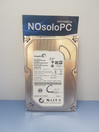 Disco Duro HDD SEAGATE - Barracuda 250GB