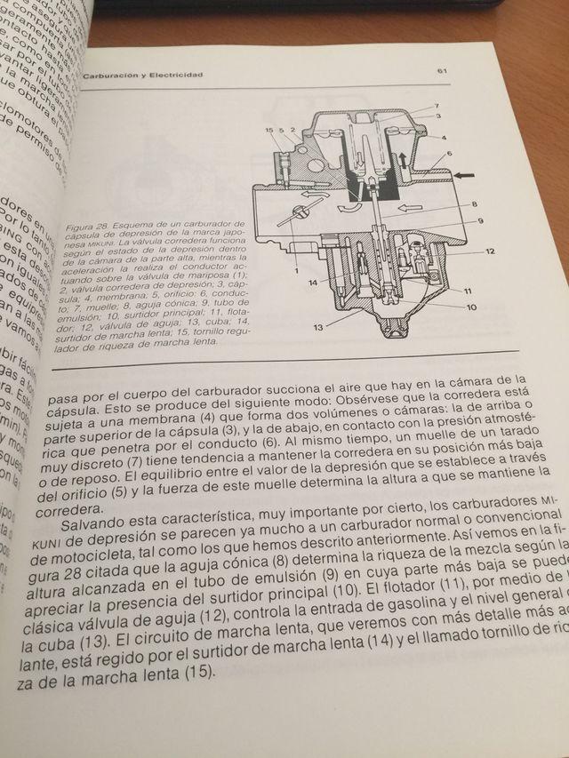 Biblioteca tècnica y practica de la motocicleta