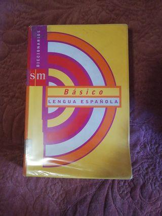diccionario lengua española básico