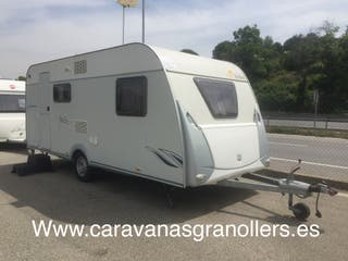 caravana roller jazz 490 nevera 150 lts aire acond