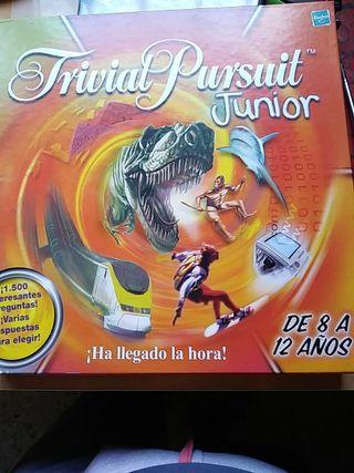 juego de mesa trivial pursuit junior