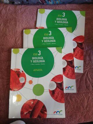 libros biología y geología