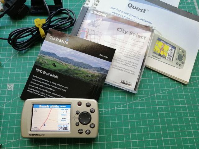 GPS Garmin Quest