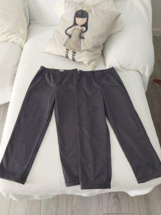 2 Pantalones Decathlon 6 años