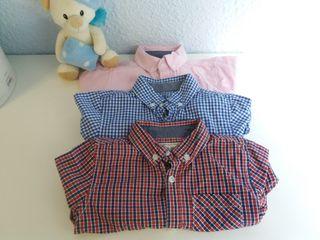 pack 3 camisas/blusas