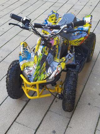 quad electrico 1000W Leopard