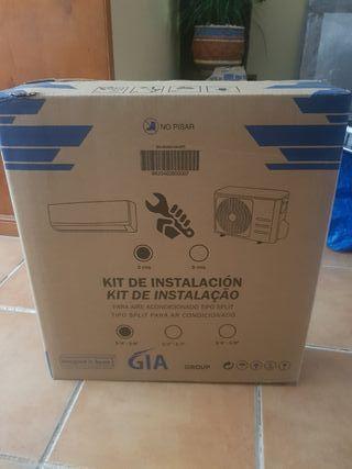 aire acondicionado kit de instalacion