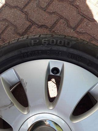 llanta 16 con neumático