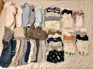 Lote invierno bebé 1-3 meses niño