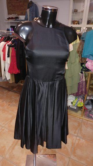 Vestido fiesta Zara Woman t.S