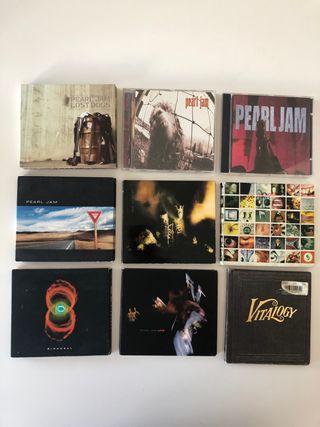 Pearl Jam - Discografía Lote 9 Discos