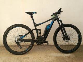 Bicicleta eléctrica Cube Stereo Hybrid 120