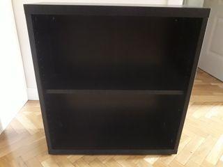 mueble auxiliar besta marrón negro ikea