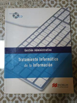 libro de grado medio o para superior informática