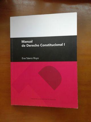 derecho constitucional I, Eva Sáenz